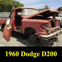 Junkyard 1960 Dodge D200 Pickup