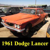 Junkyard 1961 Dodge Lancer Sedan