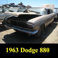 Junkyard 1963 Dodge 880