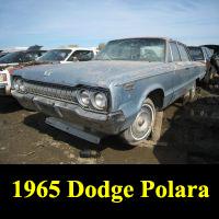 Junkyard 1965 Dodge Custom 880