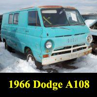 Junkyard 1966 Dodge A100