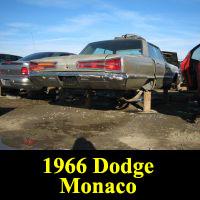 Junkyard 1966 Dodge Monaco