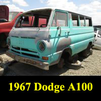 Junkyard 1967 Dodge A100