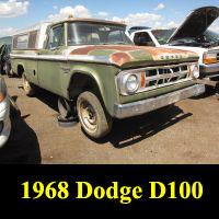 Junkyard 1967 Dodge D-100 Adventurer