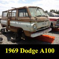 Junkyard 1969 Dodge A100 Van