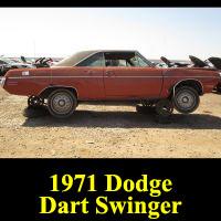 Junkyard 1970 Dodge Dart Swinger