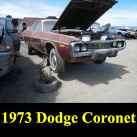 Junkyard 1973 Dodge Coronet