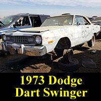 Junkyard 1973 Dodge Dart Swinger
