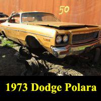 Junkyard 1973 Dodge Polara Custom Coupe