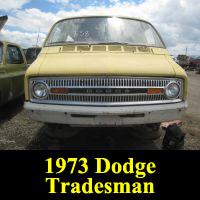 Junkyard 1973 Dodge Tradesman