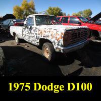 Junkyard 1975 Dodge D-100
