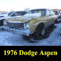 Junkyard 1976 Dodge Aspen