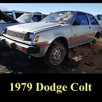 Junkyard 1979 Dodge Colt