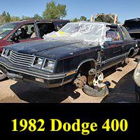 Junkyard 1982 Dodge 400 Landau