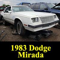 Junkyard 1983 Dodge Mirada
