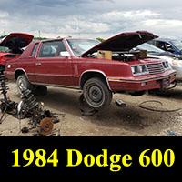 Junkyard 1984 Dodge 600
