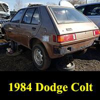 1984 Dodge Colt
