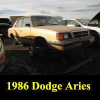 Junkyard 1986 Dodge Aries