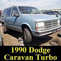 Junkyard 1988 Dodge Caravan Turbo
