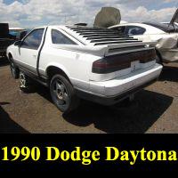 Junkyard 1990 Dodge Daytona Turbo 1