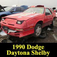 Junkyard 1990 Dodge Daytona Shelby