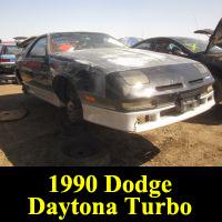 Junkyard 1990 Dodge Daytona ES Turbo