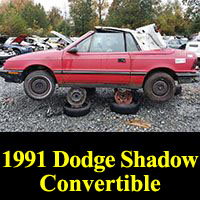 1991 Dodge Shadow convertible
