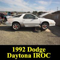 Junkyard 1992 Dodge Daytona IROC R/T