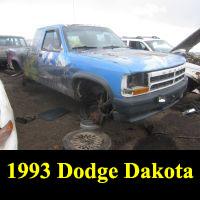 Junkyard 1993 Dodge Dakota
