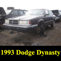 Junkyard 1993 Dodge Dynasty