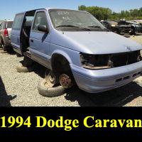 Junkyard 1994 Dodge Caravan