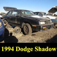 Junkyard 1994 Dodge Shadow