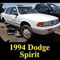 Junkyard 1994 Dodge Spirit