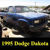 Junkyard 1995 Dodge Dakota
