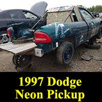Junkyard 1997 Dodge Neon Sawzall Pickup Truck