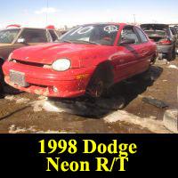 Junkyard 1998 Dodge Neon R/T