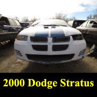 Junkyard 2000 Dodge Stratus