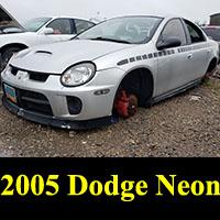 Junkyard 2005 Dodge Neon