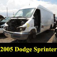 Junkyard 2005 Dodge Sprinter