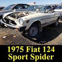 Junkyard 1975 Fiat Spider