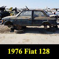 Junkyard 1976 Fiat 128
