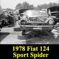 Junkyard 1978 Fiat 124 Sport Spider