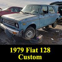 Junkyard 1979 Fiat 128 Custom
