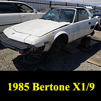 Junkyard 1985 Bertone X1/9