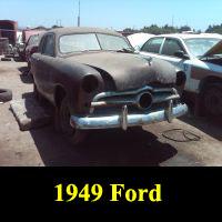 Junkyard 1949 Ford