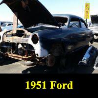 Junkyard 1951 Ford