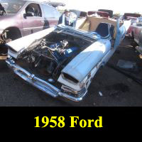 Junkyard 1958 Ford