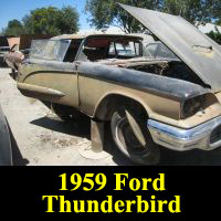 Junkyard 1959 Ford Thunderbird