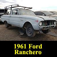 Junkyard 1961 Ford Falcon Ranchero