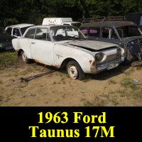 Junkyard 1963 Ford Taunus 17M